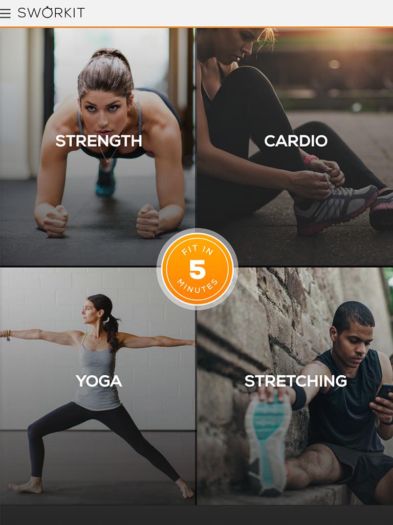 Sworkit: Workouts & Fitness Plans Screenshot 5
