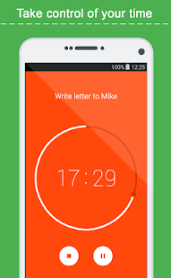 Time-tracker, ToDo list TimeIO- screenshot thumbnail