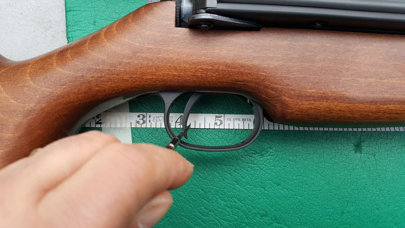 T06 trigger adjustment - Break Barrel, Pumper and Springer Airguns