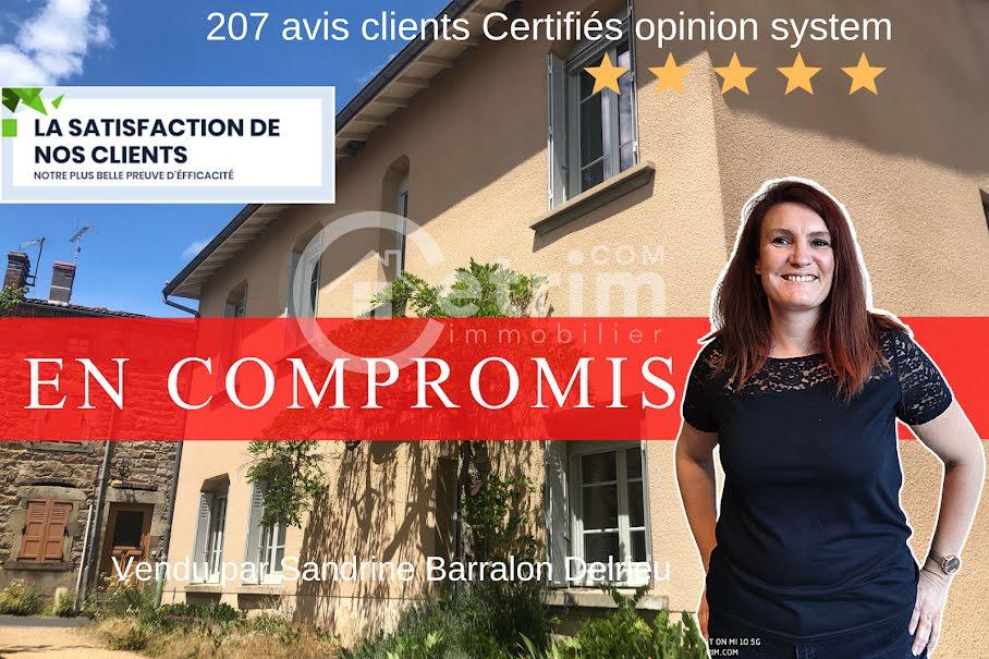 Vente maison 8 pièces 187 m² à Sermentizon (63120), 160 500 €