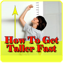 How to get taller fast icon