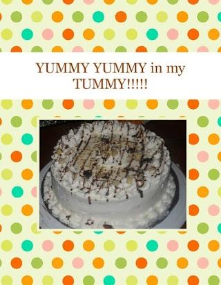 YUMMY YUMMY in my TUMMY!!!!!
