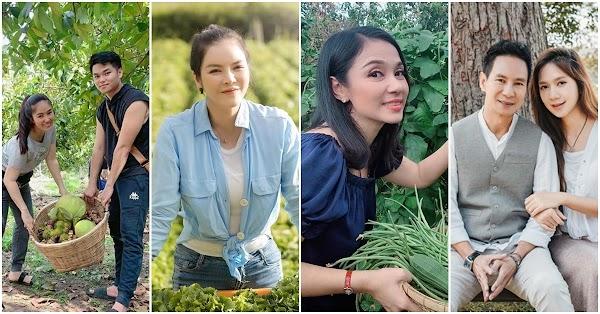 """Những sao Việt sở hữu miệt vườn """"thẳng cánh cò bay"""" khiến khán giả mê mệt: Tránh dịch hiệu quả lắm ấy"""