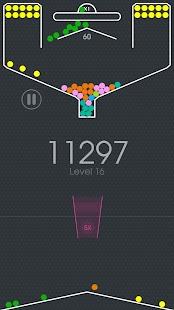 100 Balls - Tap to Drop the Color Ball Game Ekran Görüntüsü