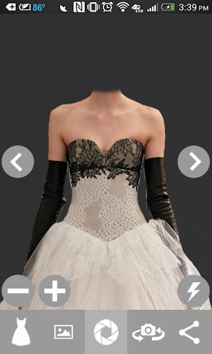 Wedding Dress Photo Suit