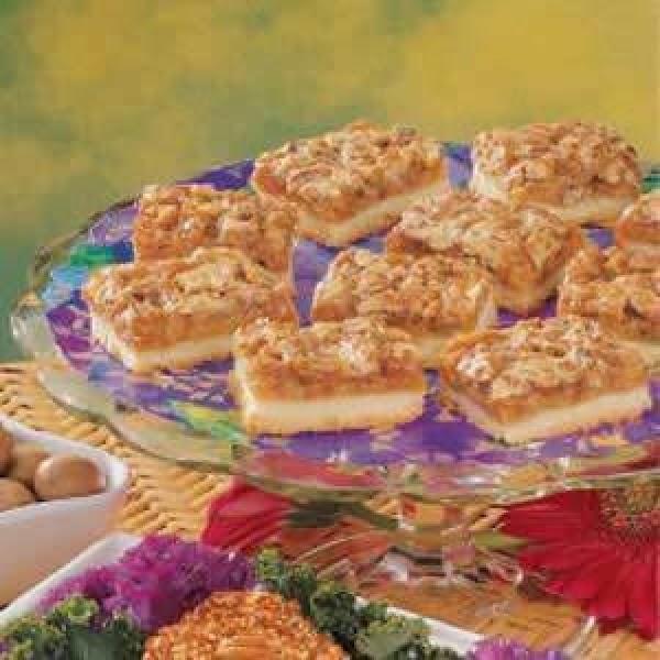 Almond Pecan  Bars Recipe