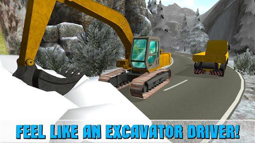 Snow Excavator Simulator 3D