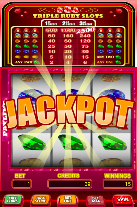Play video slot online free 888