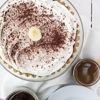 Chocolate, Pretzel, Peanut Butter, Dulce De Leche, Banana Insanity Tart