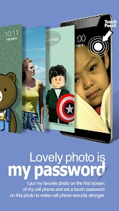 Touch Lock Screen – Easy & strong photo password 1
