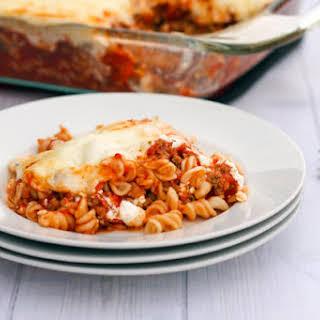 Gluten Free Lasagna.
