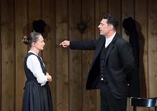 Photo: Wien/ Theater in der Josefstadt: JÄGERSTÄTTER von Felix Mitterer. Inszenierung: Stephanie Mohr, Premiere 20.6.2013. Gerti Drassl, Gregor Bloeb. Foto: Barbara Zeininger