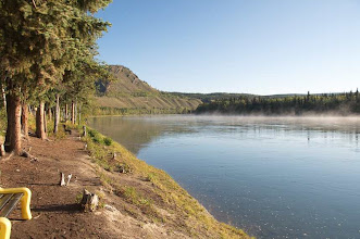 Photo: der Yukon am Morgen