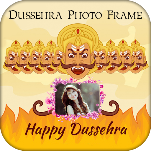 Happy Dussehra Photo Frame 2018