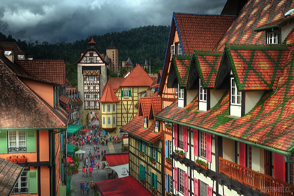 Bukit Tinggi French Village HDR