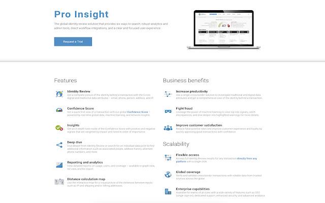 Ekata Pro Insight for Cybersource EBC 2.0