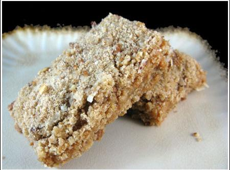 Streusel Caramel Bars Recipe