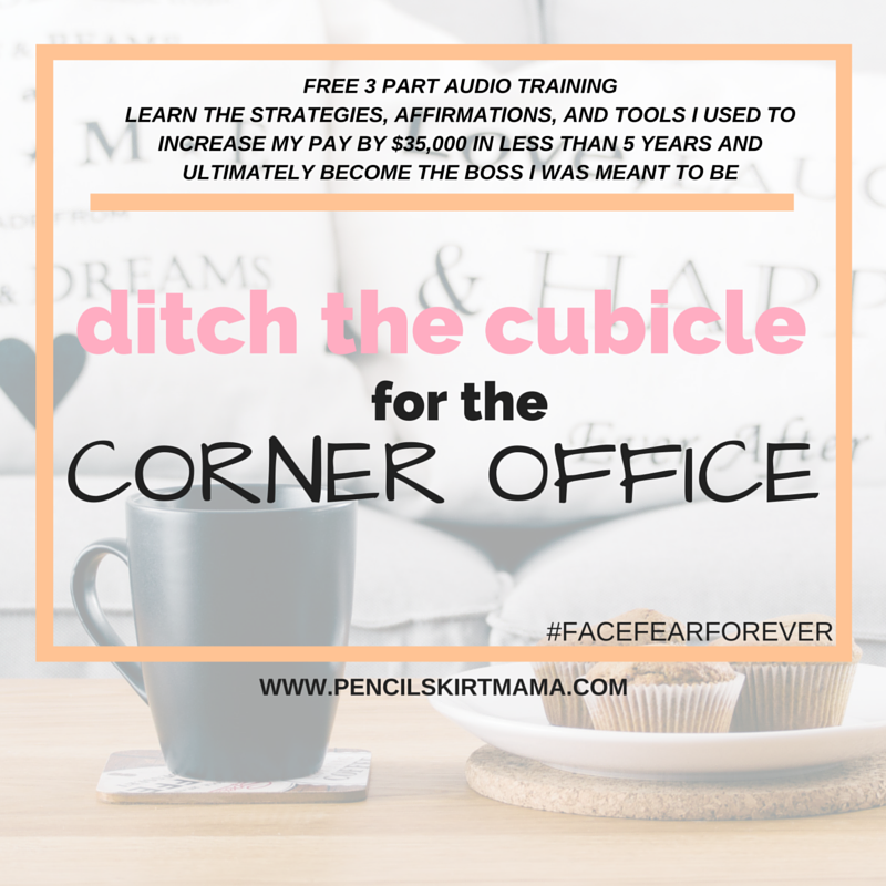 Ditch The Cubicle for the Corner Office FREE Audio Training