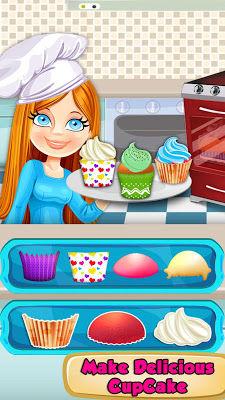 Scooty Girl! Cupcakes Shop - screenshot