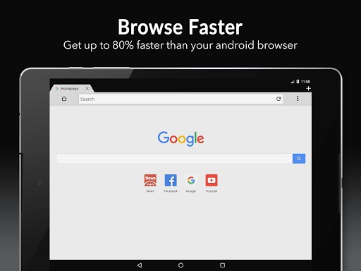 4G Internet Browser - Fast and Private 8.14.0 screenshots 6