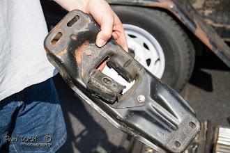 Photo: . . . . the very broken transmission mount