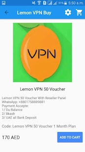 Lemon VPN Buy - náhled