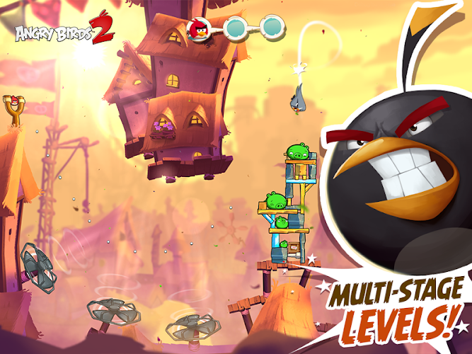 Angry Birds 2 Mod v2.0.1 (Unlimited Gems & Energy) APK - Cover