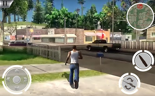 Gangster Auto Theft Superhero San Andreas City - náhled