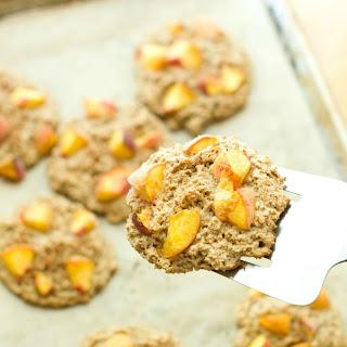 Peach-ginger Oat Scone Recipe { Vegan, Gluten-free }