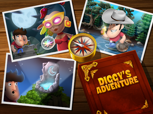 Diggy's Adventure: Fun Logic Puzzles & Maze Escape apkpoly screenshots 21