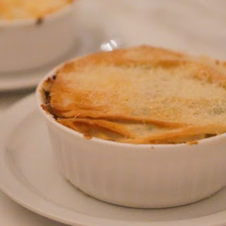 [RECIPE] Low Fat Chicken Pot Pie with Parmesan Phyllo Crust