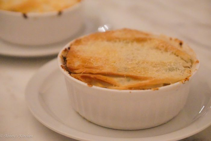 Chicken And Mushroom Pie With Phyllo-Parmesan Crust Recipes ...