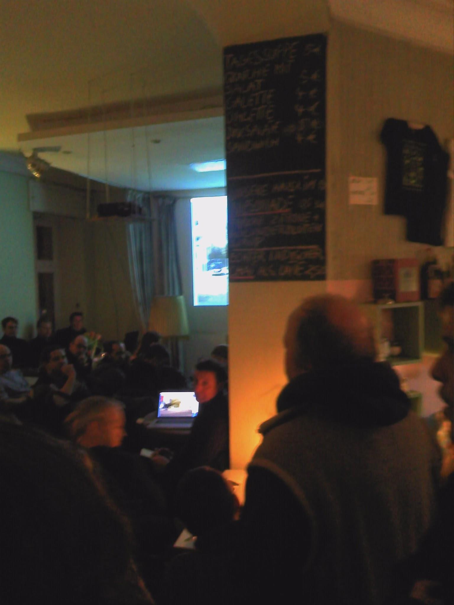 Photo: Heiner Funkens Projektionen...