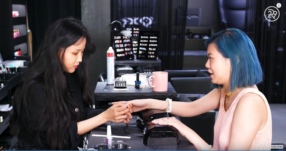 2 blackpink nail artist