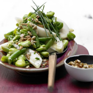 Two-Bean and Pear Salad