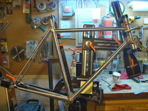 Photo: One final dry fit with all the lugs.