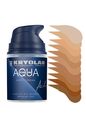 Aquacolor cream 50ml, hudtoner