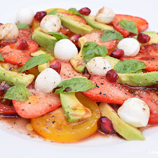 Summer Vegetarian Carpaccio.