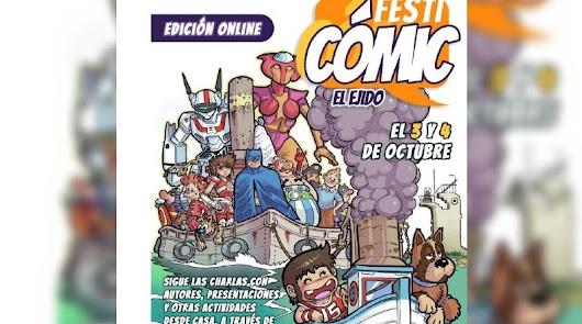 Festicómic El Ejido: un fin de semana repleto de actividades 100% online
