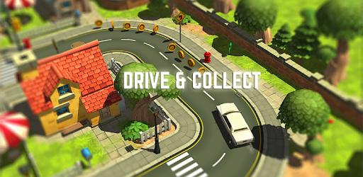Drive your car and complete missions by collecting coins