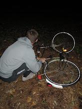 Photo: a šlo se na lup... teda pomoct Leuvenu od jednoho odloženého a týdny opuštěného bicyklu