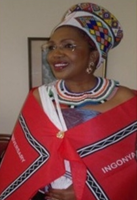 Queen Mantfombi Dlamini.