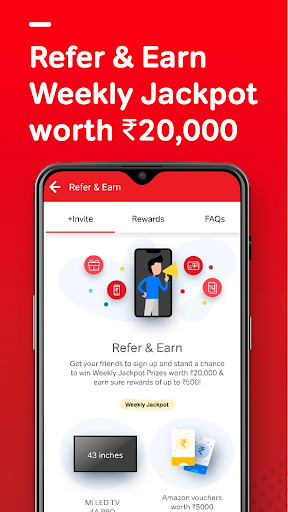Airtel Thanks - Recharge, Bill Pay, Bank, Live TV android2mod screenshots 7
