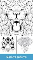 Coloring pages:Animals Mandala - screenshot thumbnail 08