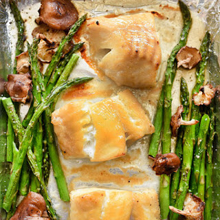Broiled Miso Cod With Vegetables