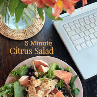 Five Minute Citrus Salad