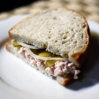 Deviled Ham Salad Sandwiches.