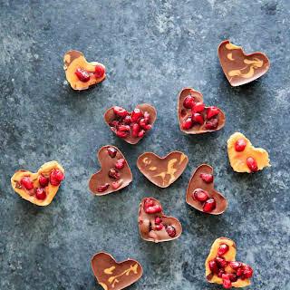 + Pomegranate seeds (arils).