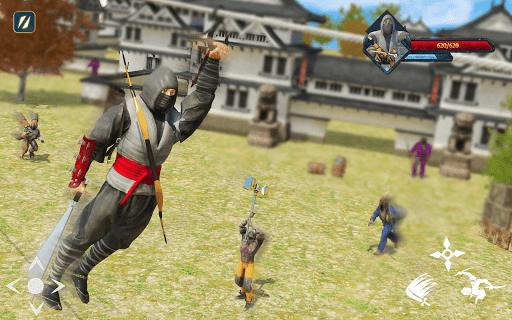 Super Ninja Kungfu Knight Samurai Shadow Battle  screenshots 10