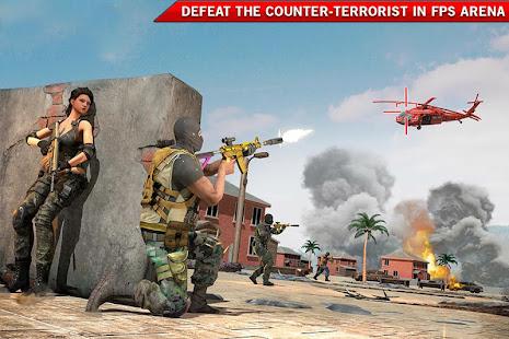 FPS Shooting - Counter Terrorist Gun Strike Game for PC-Windows 7,8,10 and Mac apk screenshot 1